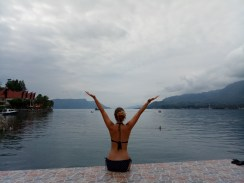 Vulcano Lake Toba, Sumatra