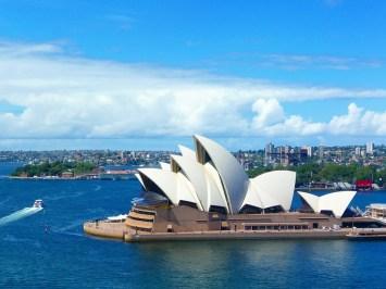 Sydney Opera House on a sunny day