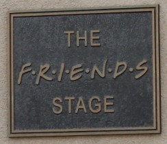 Plaque of the Friends Stage