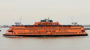 Orange Staten Island Ferry