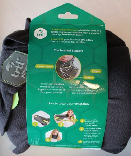 easy to use trtl travel pillow