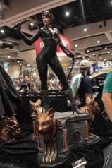 Cat woman figurine ready with her whip in her hands