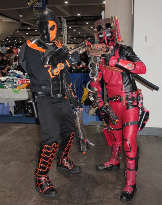 Steam punk version of Deadpool character