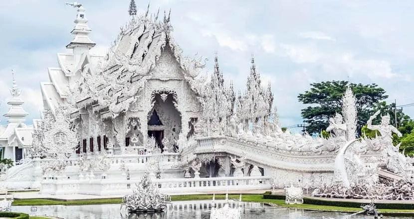 Chiang Rai white temples