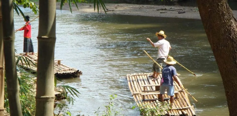 Top things to do in Chiang Mai - Bamboo Rafting