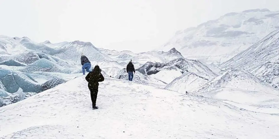 Solheimajokull Glacier trek