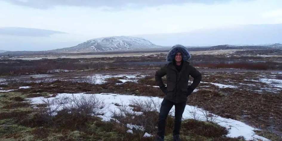 Iceland Volcanic Backdrop