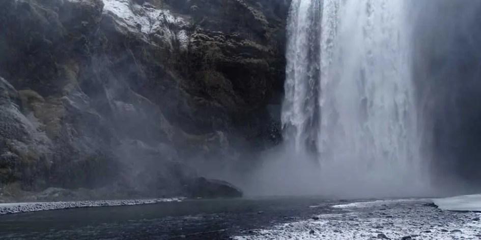 Iceland South Coast waterfalls