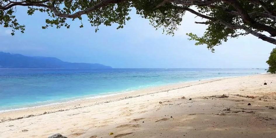 Things to do on Gili Trawangan - beaches
