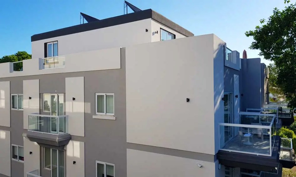 Urban Valley Resort apartment buildings