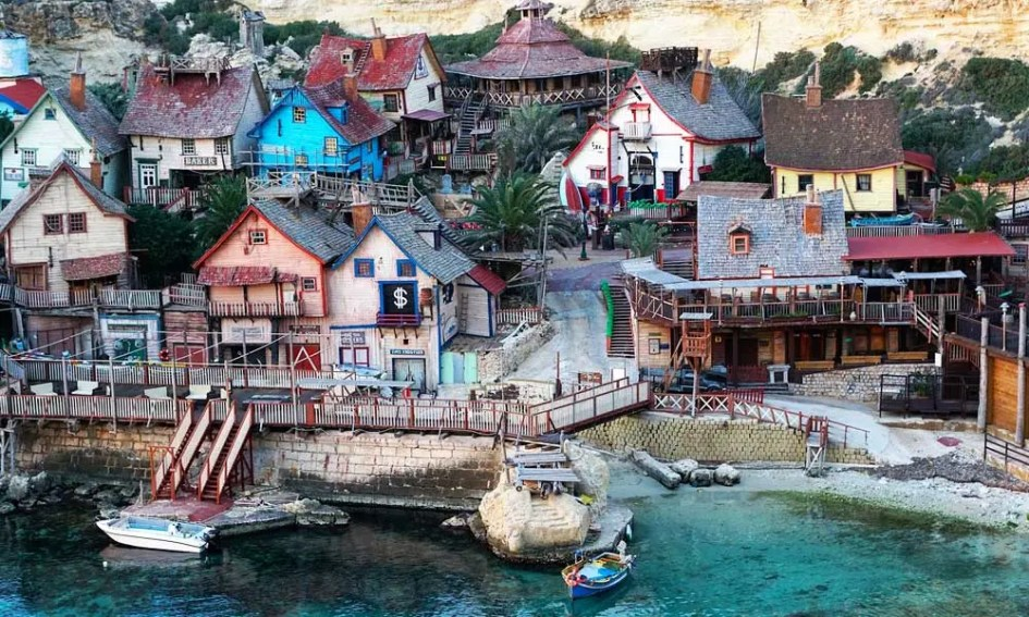 Popeye village tour Malta