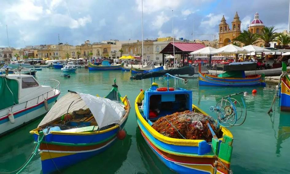 Best places to visit in Malta - Marsaxlokk