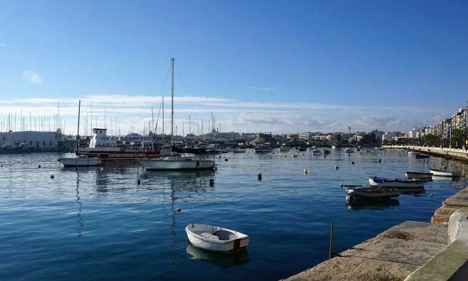 Best places to visit in Malta - Sliema