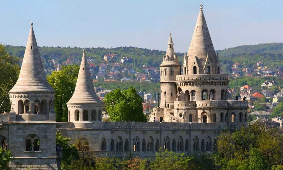 Cheap July holiday ideas - shows Budapest castle