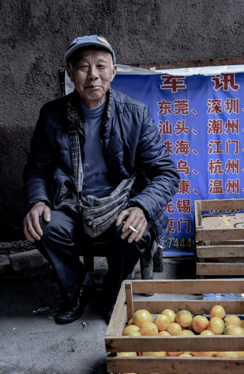 Zhangjiajie Street Vendor - China