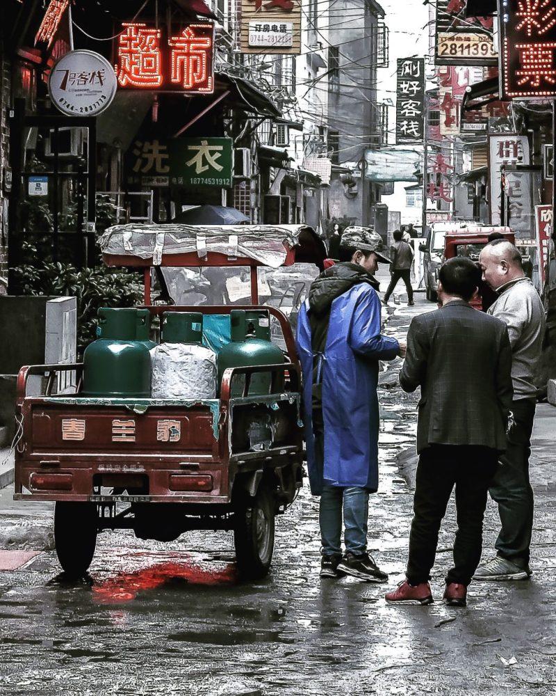 Zhangjiajie Street View - China