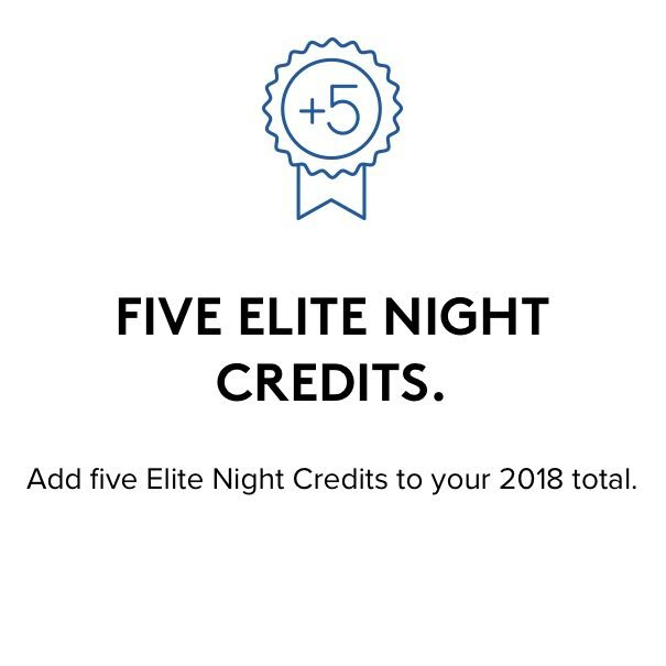 Marriott Annual Choice Benefit Gift Gold Elite Marriott Five Elite Night Credit