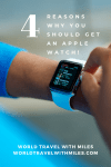 The apple watch is a great travel companion