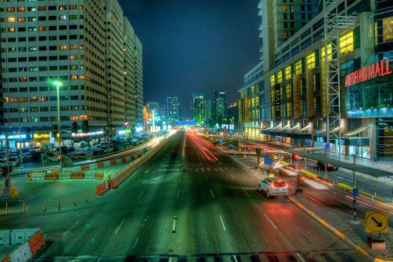 Abu Dhabi Mall @Night
