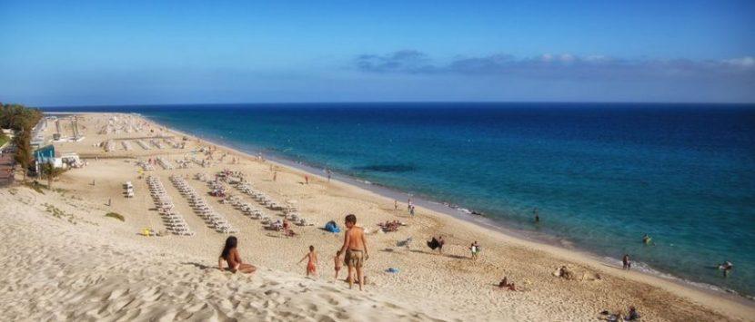 Jandia Playa - Aussicht