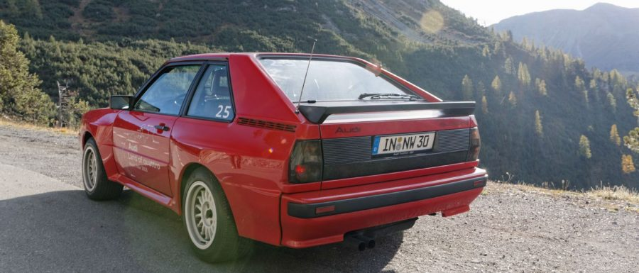 Audi Land of quattro Alpen Tour | Sport quattro