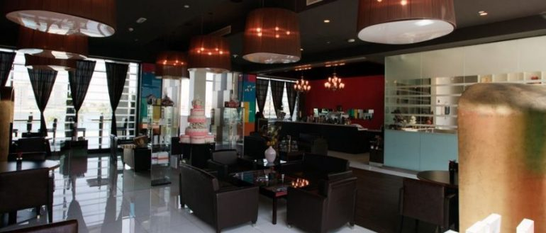 Restaurant The Chocolate Gallery im Erdgeschoss