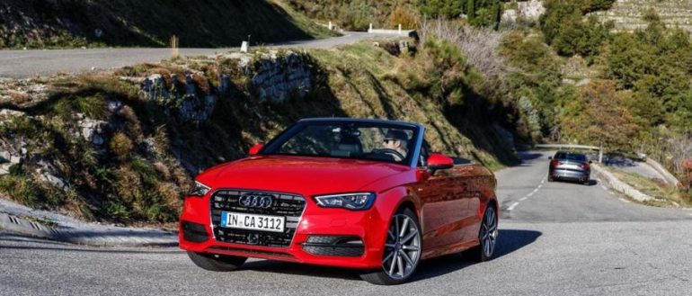 2014 Audi A3 Cabriolet Misanorot S-Line