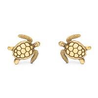 Sea Turtle Stud Earrings | World Treasure