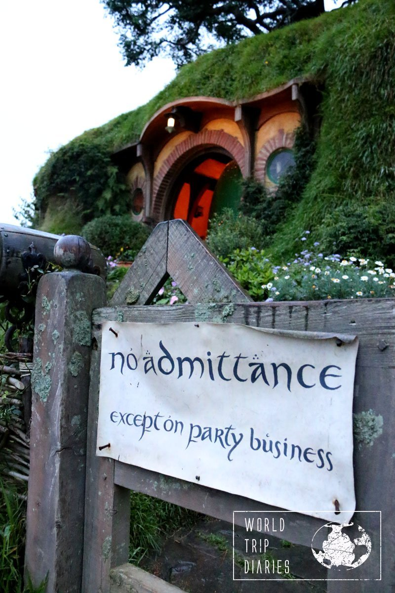 Bilbo's house, unfortunately that's as near as you can get