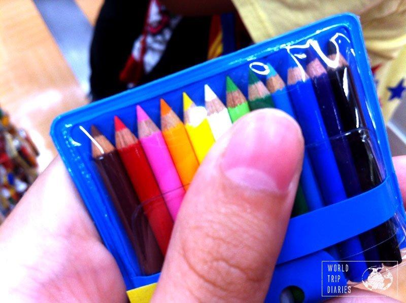 tiny pencils