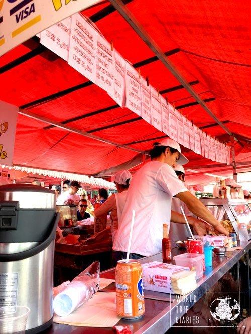 pastel feira brazil
