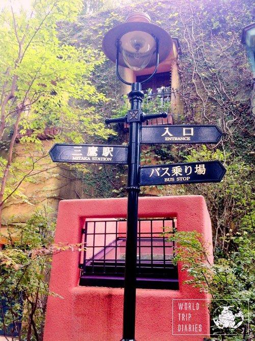 ghibli museum signs