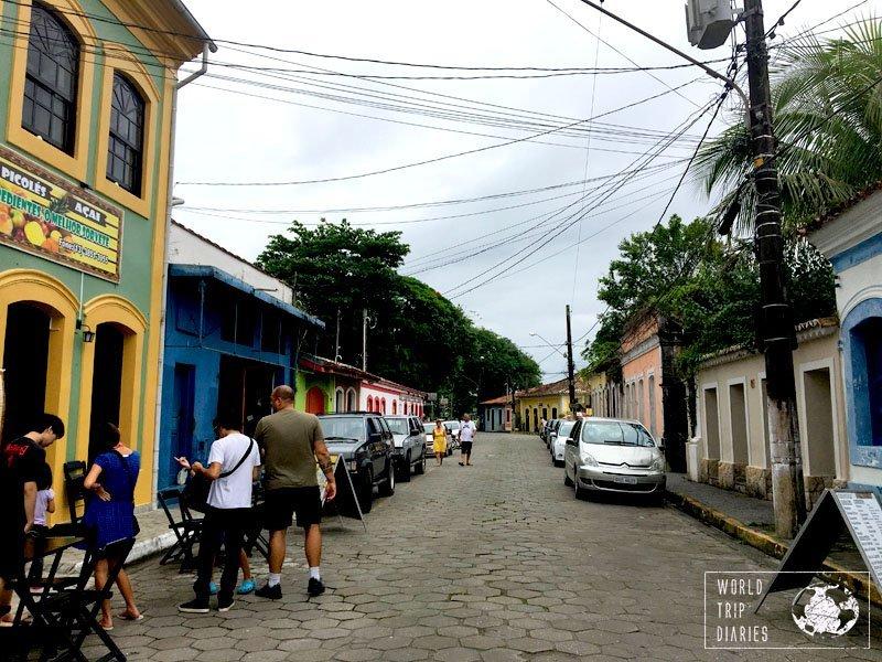 cananeia street são paulo brazil