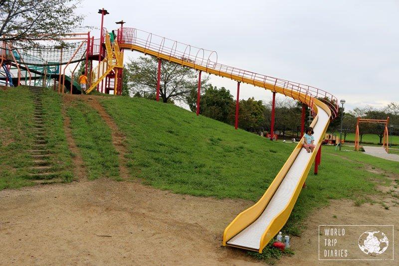 flower park slide