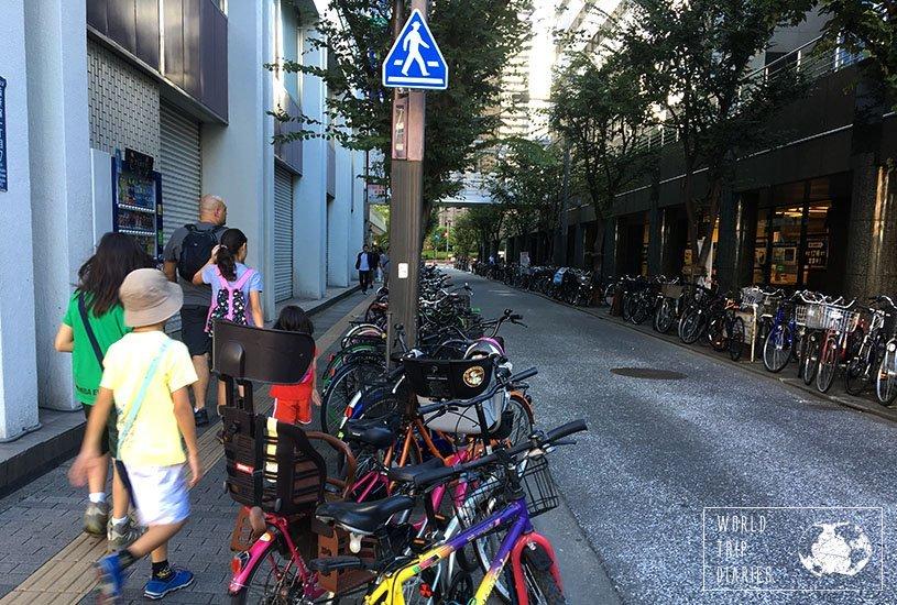 bike parking, Tokyo, Japan
