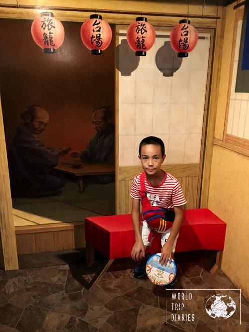Edo room, trick art museum