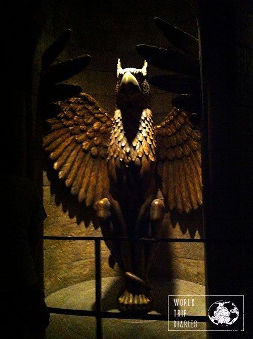Griffin at Hogwarts Castle