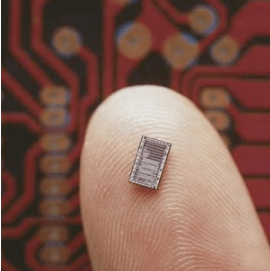 human-chip-on-finger