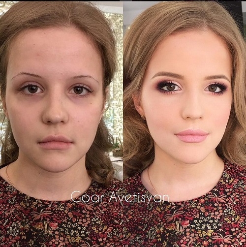 Never Trust A Woman In Make-Up! The Reason Is These 28 Unbelievable Photos. (12)