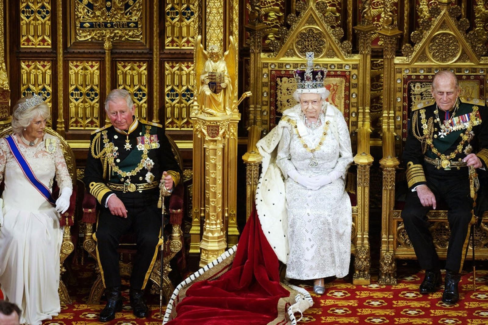 There are two operant Crowns in England, one being Queen Elizabeth II ...