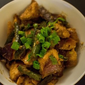Delicious Chicken with Green Beans 1