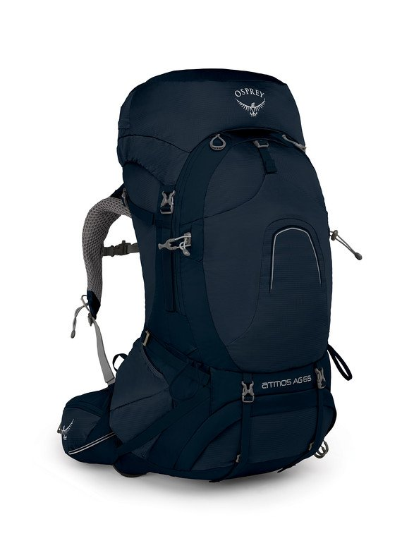 OSPREY ATMOS AG 65 best travel backpack for travelers