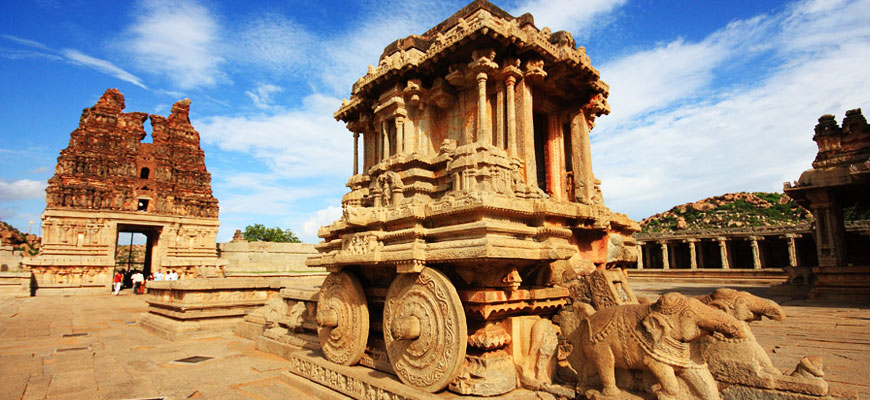 Image of UNESCO heritage site 'Hampi'