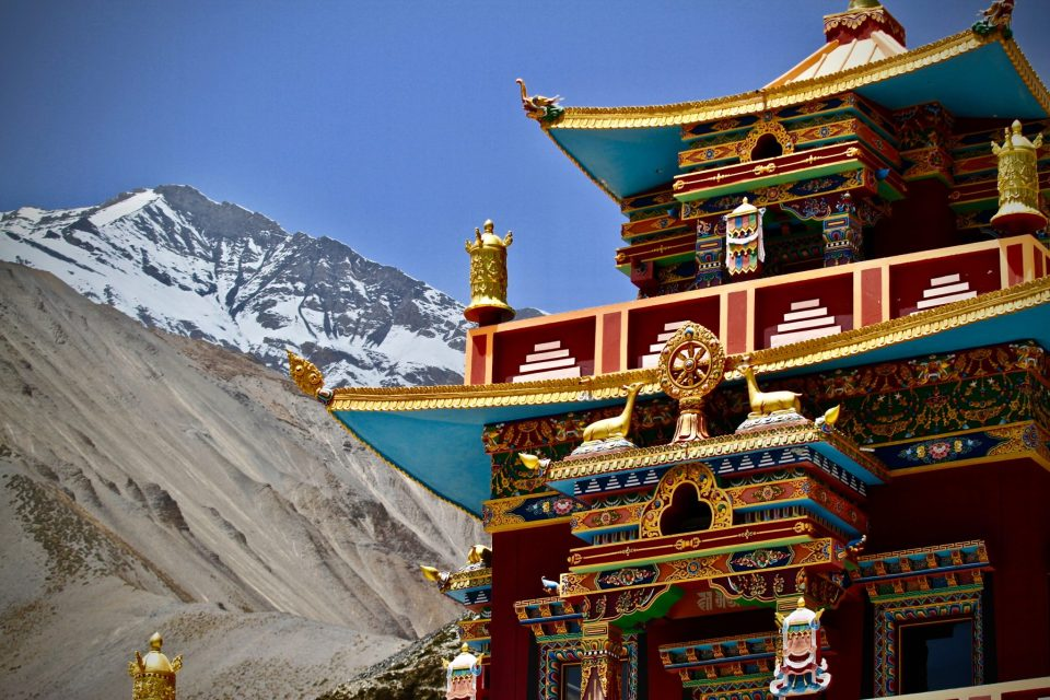 Tibetan Buddhist Monastery in Sikkim