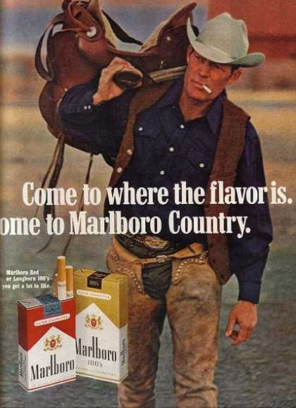 Image of Marlboro Man that influenced culture