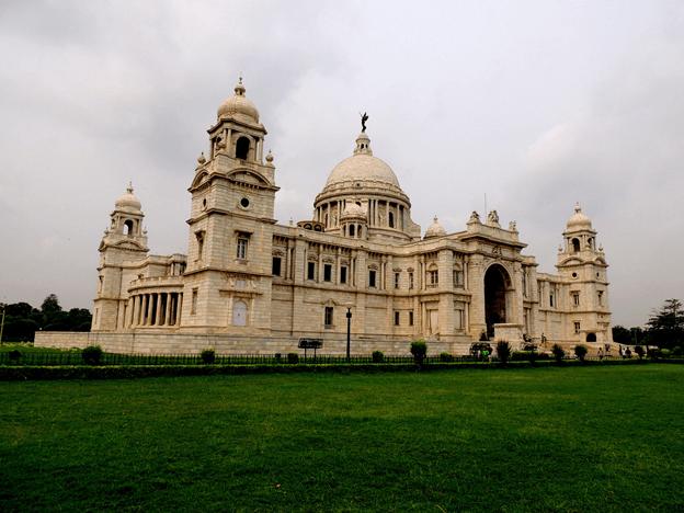 Image of Kolkata's famous Victoria Memorial