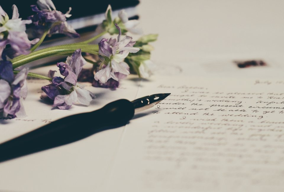 date idea by writing a letter to your partner