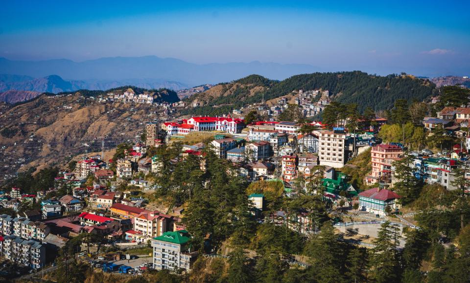 Shimla - the best honeymoon destinations in India