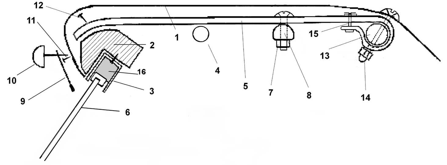 Installation Instructions for Jaguar XK120, XK140 Roadster
