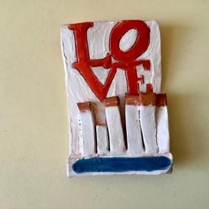 Love 76 matchbook
